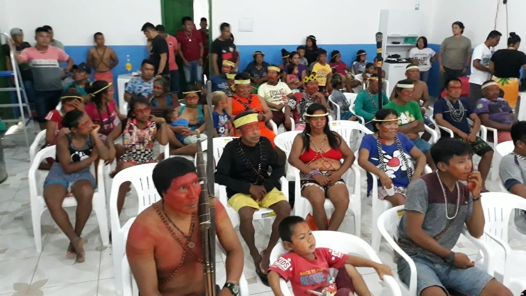 Lideranças indígenas do Vale do Javari. Crédito da Foto: José Rosha
