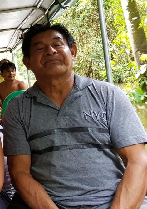 Amâncio Ikon Munduruku. Foto: divulgação/Associação Pariri