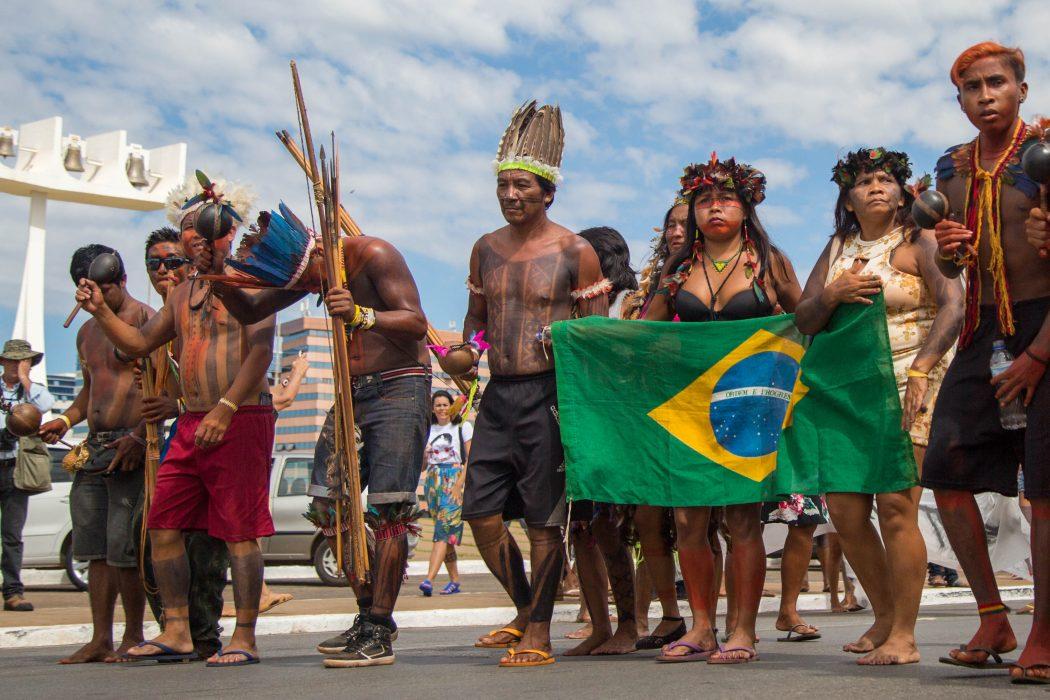 Acampamento Terra Livre (ATL) 2018. Foto: Guilherme Cavalli/Cimi