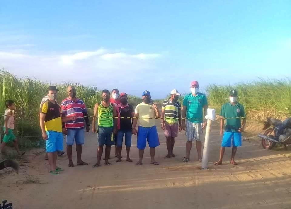 Durante três meses, povo Potiguara se revezou em barreiras sanitárias 24h por dia. Foto: povo Potiguara