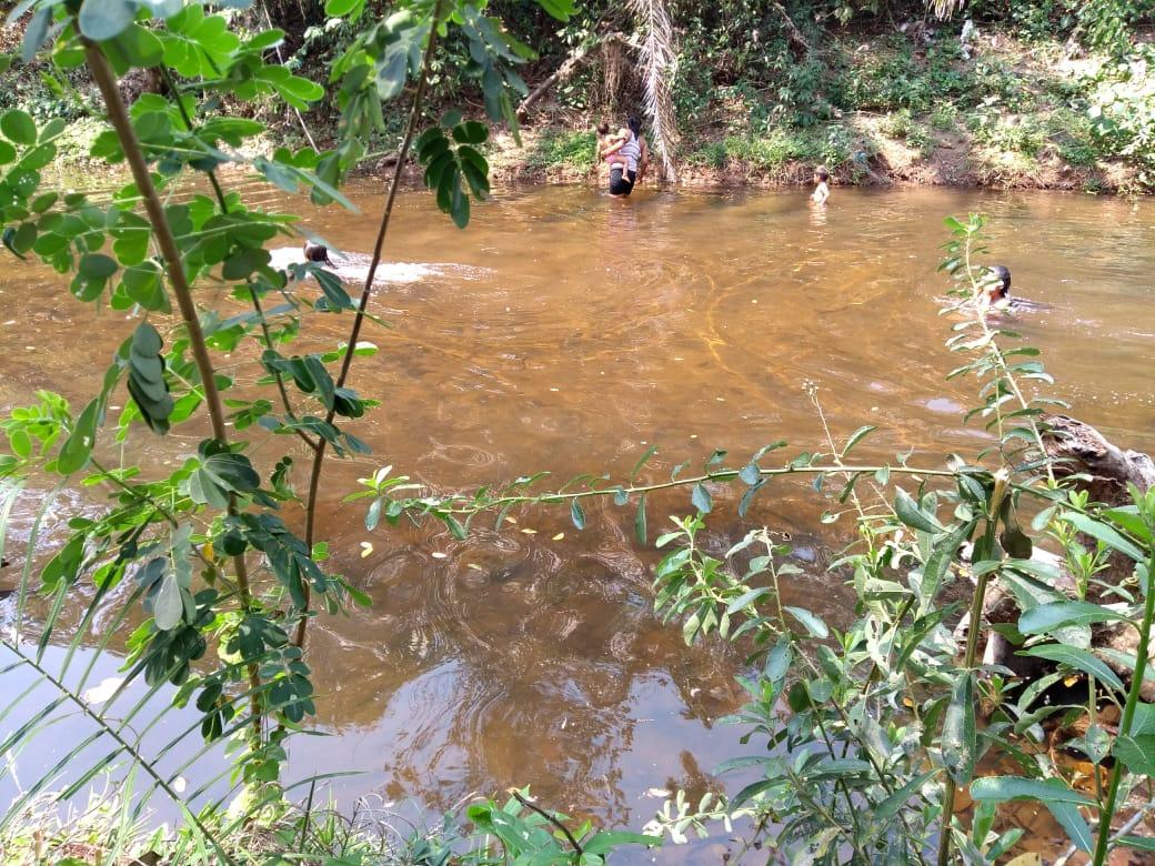 Comunidade utilizava o rio para banho, consumo e irrigação das hortas. Foto: arquivo pessoal/indígena Chiquitano
