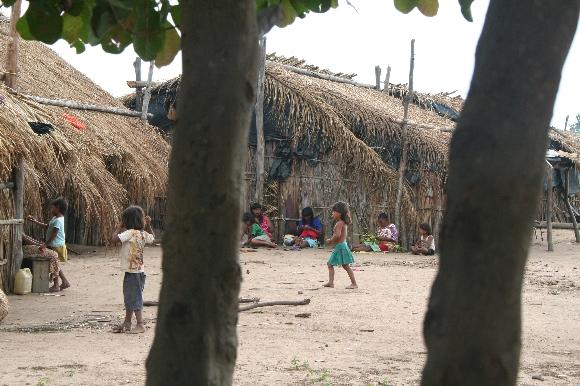 Crianças do Povo Xavante. Foto: Marcy Picanço / Arquivo Cimi