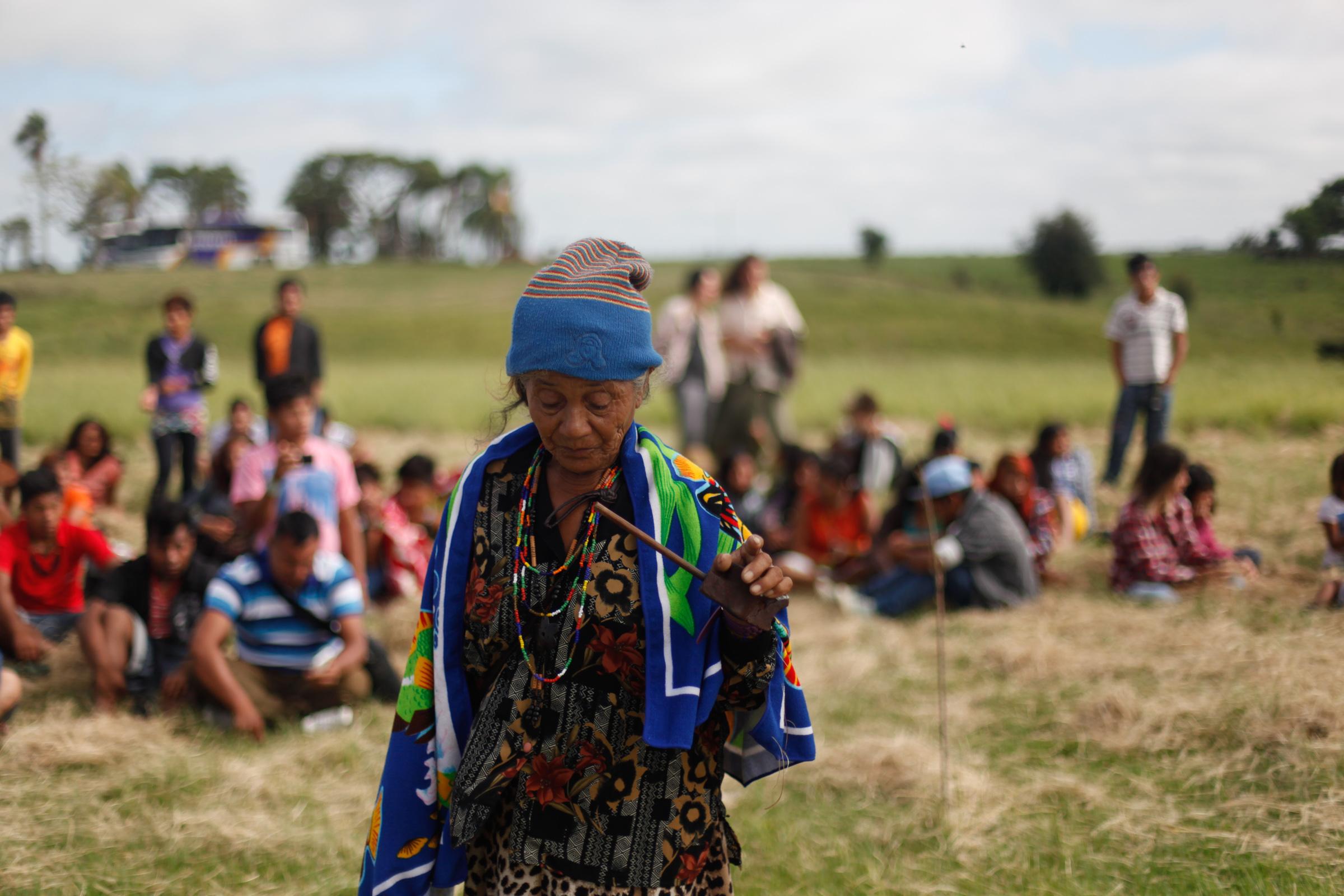Indígenas Guarani Mbya no Rio Grande do Sul divulgam